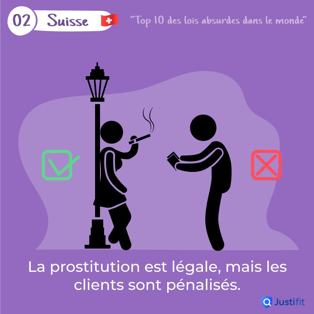 """Alt=""""La prostitution est légale, mais les clients son pénalisés"""""""