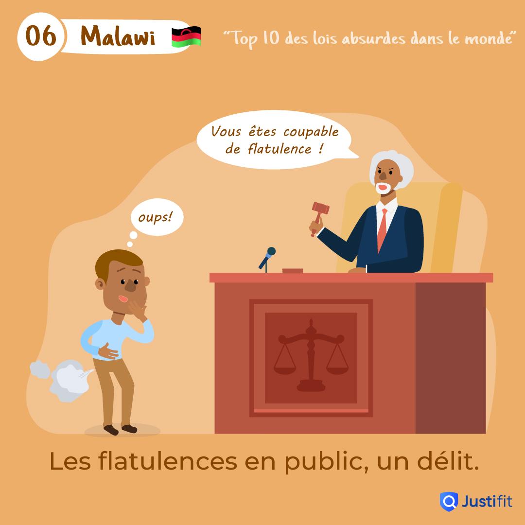 """Alt=""""Les flatulences en public, un délit"""""""