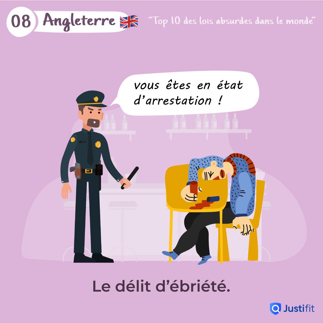 """Alt=""""Le délit d'ébriété"""""""
