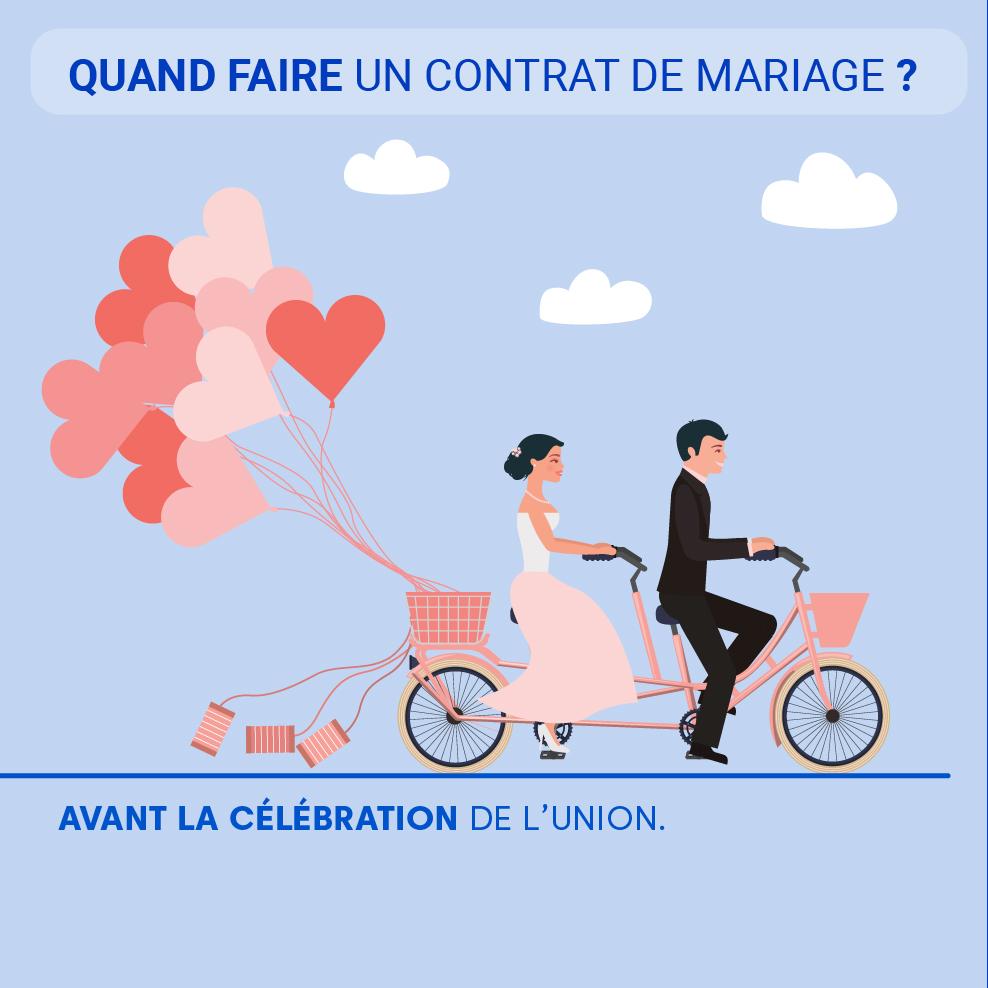 """Alt=""""Quand faire un contrat de mariage"""""""