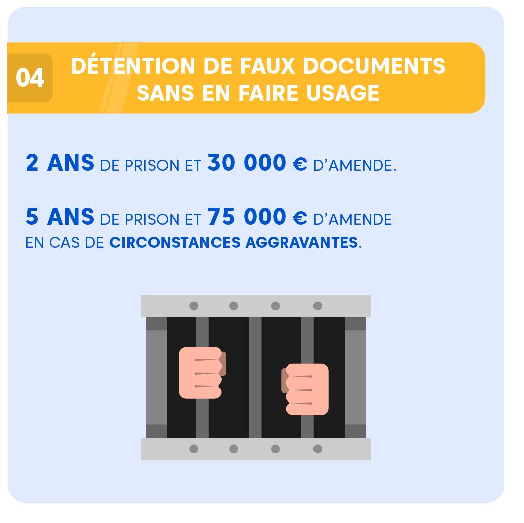 """Alt=""""Faux et usage de faux -Faux documents"""""""