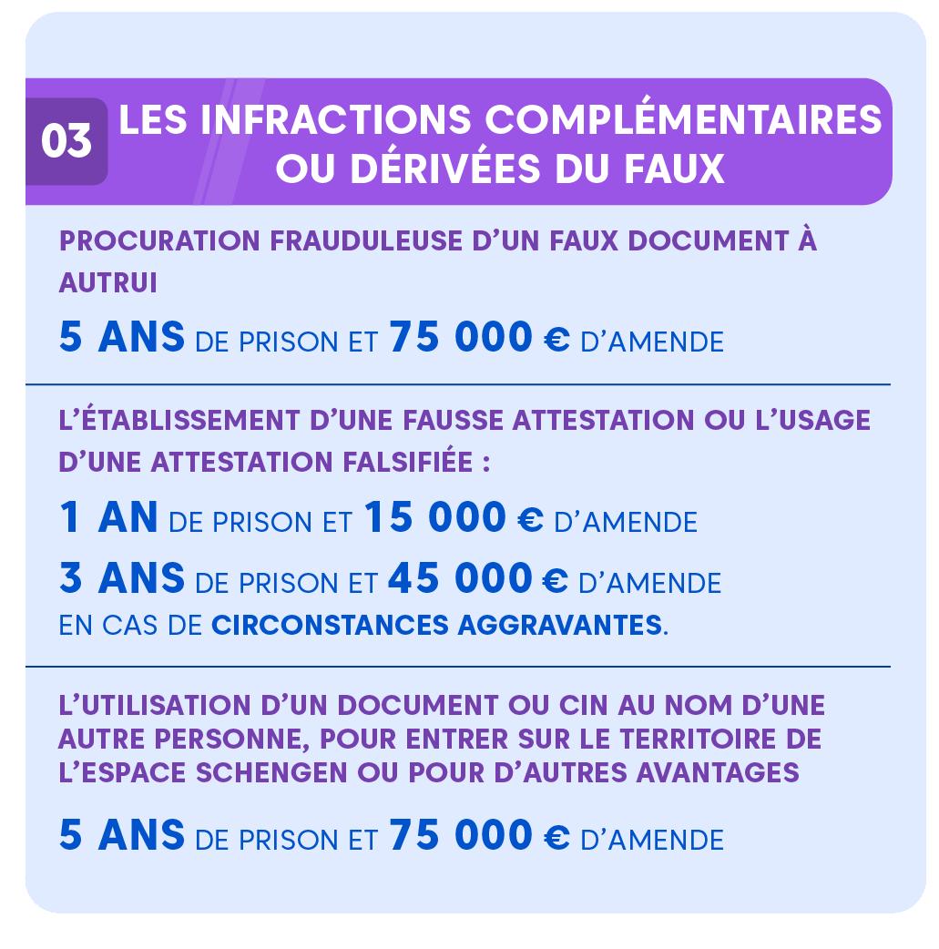 """Alt=""""Faux et usage de faux - infractions-complementaires"""""""