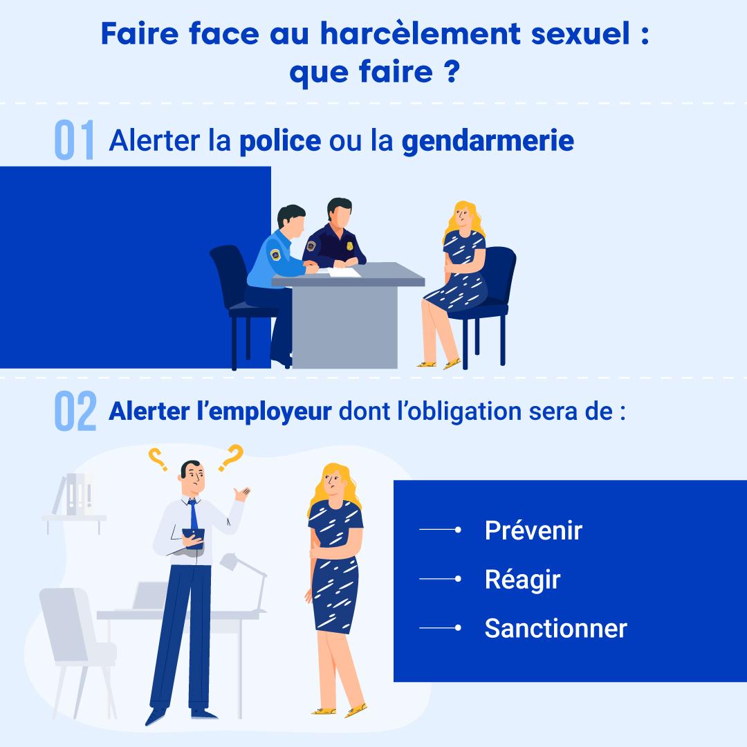 """Alt=""""Faire face au harcèlement sexuel"""""""