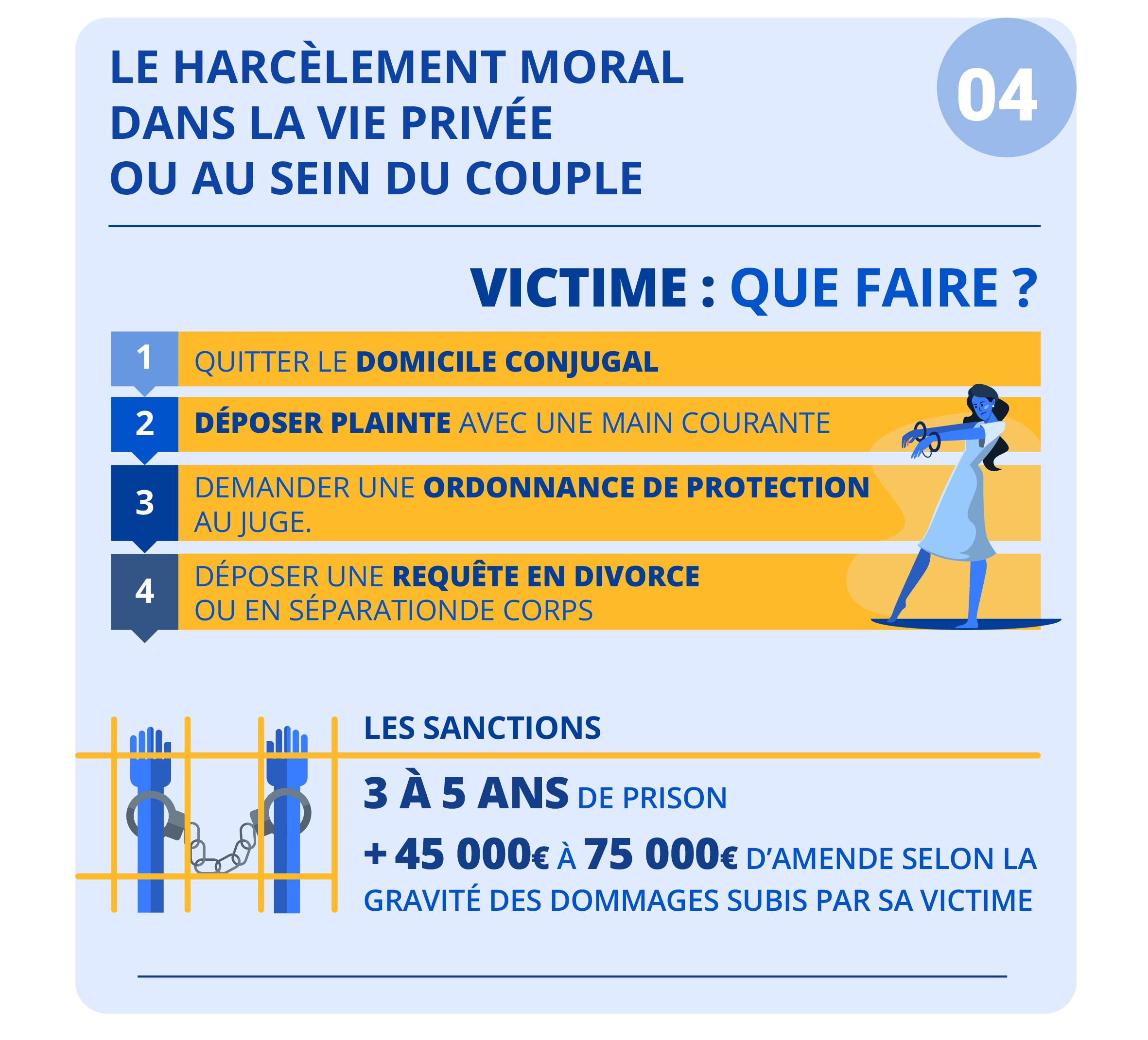 """Alt=""""Le harcèlement moral - vie privée ou couple"""""""