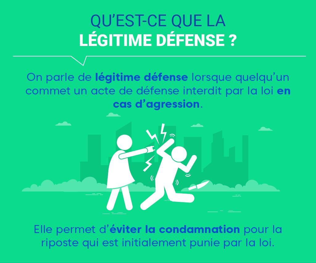 """Alt=""""Légitime défense - Définition"""""""