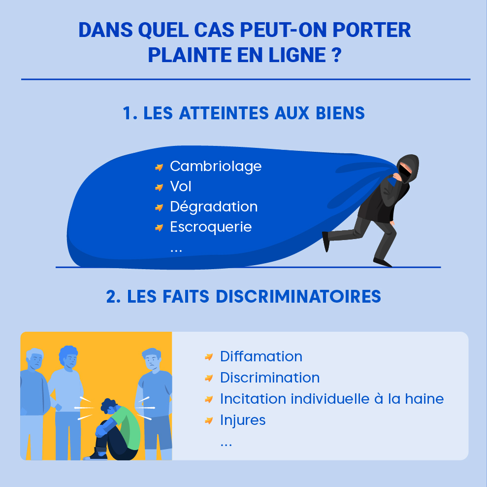 "Alt=""Porter plainte en ligne - conditions """